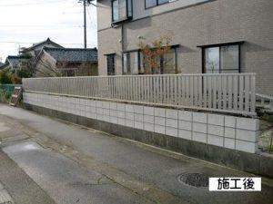 T様邸・ブロック塀・フェンス工事 施工後