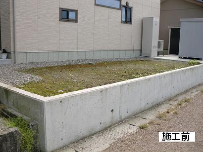 施工前 T 様邸・フェンス・階段新設・門扉取付工事