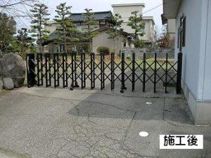 H様邸・ゲート取付工事
