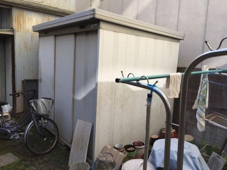 蔵の片付け・物置の解体撤去