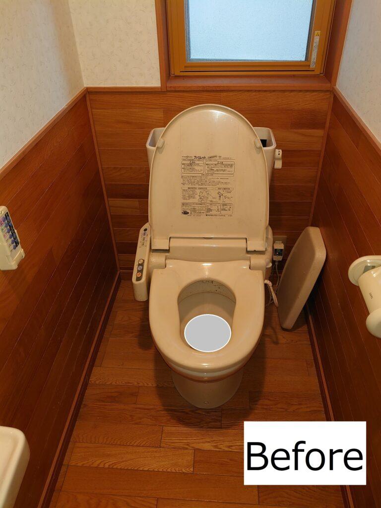 K様邸・トイレ入替え工事