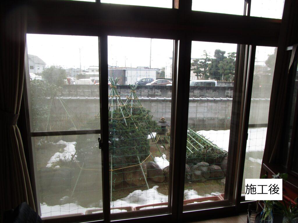 T様邸・内窓プラマード取付工事